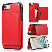 iPhoneケース レザー   iPhone 11 / 11 Pro / 11 Pro Max 他 /サイズ選択可 スマホ カバー  レッド