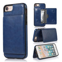 iPhoneケース レザー   iPhone 11 / 11 Pro / 11 Pro Max 他 /サイズ選択可 スマホ カバー  ブルー