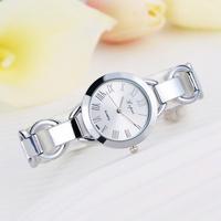 LVPAI レディース クォーツ腕時計 ローマ数字 ブレスレット