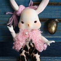 ウサギペット球体関節人形  BJD カスタムドール  1/12  フルセット誕生日プレゼント