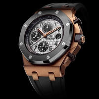 DIDUN design 腕時計 クロノグラフ ラバーバンド  防水 カラー選択可能