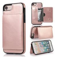 iPhoneケース レザー   iPhone 11 / 11 Pro / 11 Pro Max 他 /サイズ選択可 スマホ カバー  Rose Gold