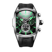 REEF TIGER 腕時計 トゥールビヨン ラバーストラップ  機械式腕時計  RGA3069-YBBN