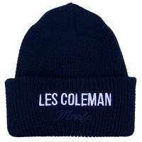 L.E.S. Knit Cap Navy
