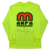 Industries L/S Neon Yellow, White