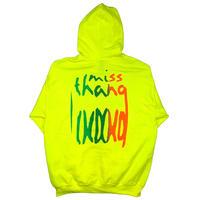 Miss Thang Extend Hoodie Neon Yellow, Neon Orange,