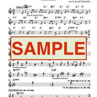 "1stアルバム収録オリジナル曲楽譜""HAMABE-NO-UTA""(PDFデータ/送料なし)"