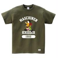 "Ma.K Tシャツ ""オスカル"" オリーブ(OLIVE)"