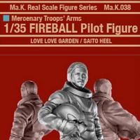 1/35 FIREBALL Pilot Figure