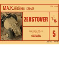 1/76 ZERSTOVER
