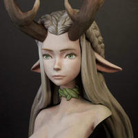 PRINCESS OF THE FOREST BUST
