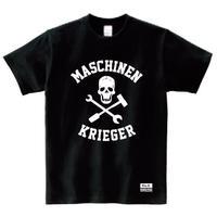 """Ma.K Tシャツ """"スカル SKULL """" ブラック(BLACK)"""