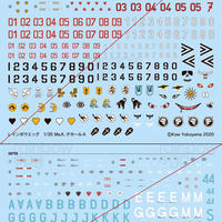 1/35 FLIEGE, KAUZ and RAPTOR DECAL SET