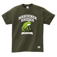 "Ma.K Tシャツ ""クレーテ Kröte "" アーミーグリーン(ARMY GREEN)"