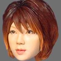 1/6  W-03 HEAD MODEL