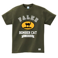 "Ma.K Tシャツ ""ファルケ FALKE "" アーミーグリーン(ARMY GREEN)"