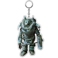 【11月中旬入荷】Kow yokoyama  Maschinen Krieger exhibition  limited Key chain TYPE:A