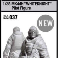 "[SHIPPING AT MID MAY] 1/35 ""WHITEKNIGHT"" Pilot Figure"