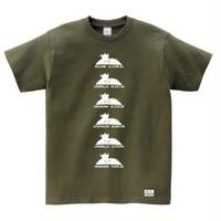 "Ma.K Tシャツ ""ナッツロッカーキラー"" オリーブ(OLIVE)"