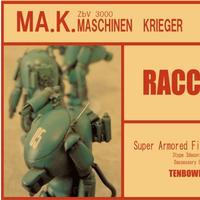 1/76 RACOON(3 pieces set)