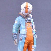 MERCENARY ARMY SPACE PILOT