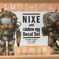 NIXE and rainbow egg Decal set