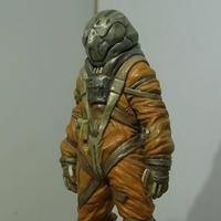 """WHITEKNIGHT"" Pilot Figure"