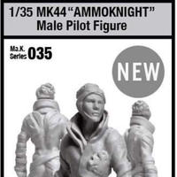[SHIPPING AT JUN] 1/35 MK44 AMMOKNIGHT Male Pilot Figure