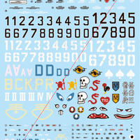 1/20 & 1/35 S.A.F.S. Variation Suit DECAL SET