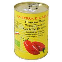 ラ・テラ・エ・イル・チェロ 有機ホールトマト 400g
