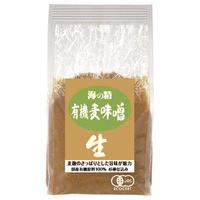 海の精 国産有機麦味噌 1kg