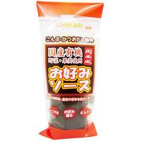 光食品 関西風 お好みソース(国産有機野菜・果実使用) 300g