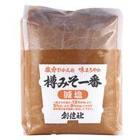 創健社 樽みそ一番(減塩) 1kg