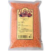 アリサン P02 有機赤レンズ豆 500g