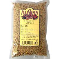 アリサン P04 有機茶レンズ豆 500g