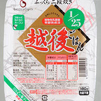 たんぱく質1/25越後米粒タイプ  180g