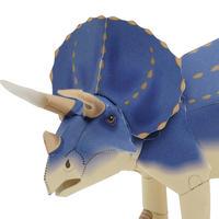 トリケラトプス:Triceratops(紙工作キット)