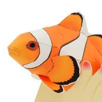 カクレクマノミ(2体組) :Clownfish(紙工作キット)