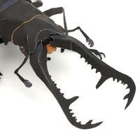 ギラファノコギリクワガタ:Giraffe stag beetle(紙工作キット)