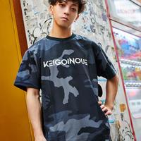 KEIGOINOUE/F+SStyle_CamouflageTShirt Black&White