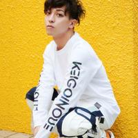 KEIGOINOUE/F+SStyle_Super heavy weight Long TShirt Black&White