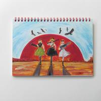 五月女乙女ノート002「荒野の逆襲乙女」