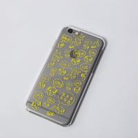 iPhone5/5S、6ケース[OPEN!yellow]