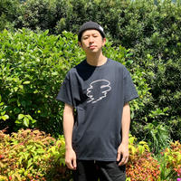 SMOKE LYRIC TEE  [BLACK]