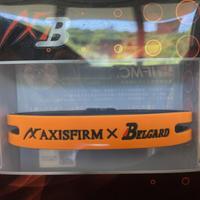 シリコンブレスレット/リバーシブル(AXF×Belgard) ORANGE