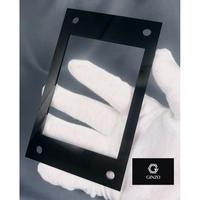 GINZO アクリルフレーム 黒 <Sサイズ対応>(ネジ付き)