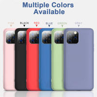 Soft Cover For  iPhone12Mini, iPhone 12, iPhone 12 Pro, iPhone12 Pro Max, iPhone SE2020