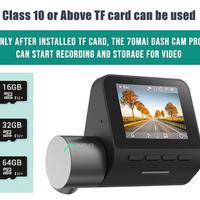 Xiaomi ダッシュカムプロ ドライブレコーダー 1080P 音声制御 24時間駐車モニター 64GB