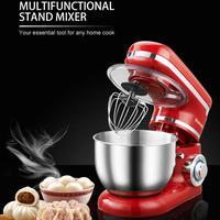 1200W 4L ステンレス キッチン 食品 スタンドミキサー 泡立て器 ケーキ 生地 パン クリーム 卵