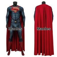 スーパーマン クラークケント コスプレ 衣装 ハロウィン マント付 男性 3D印刷